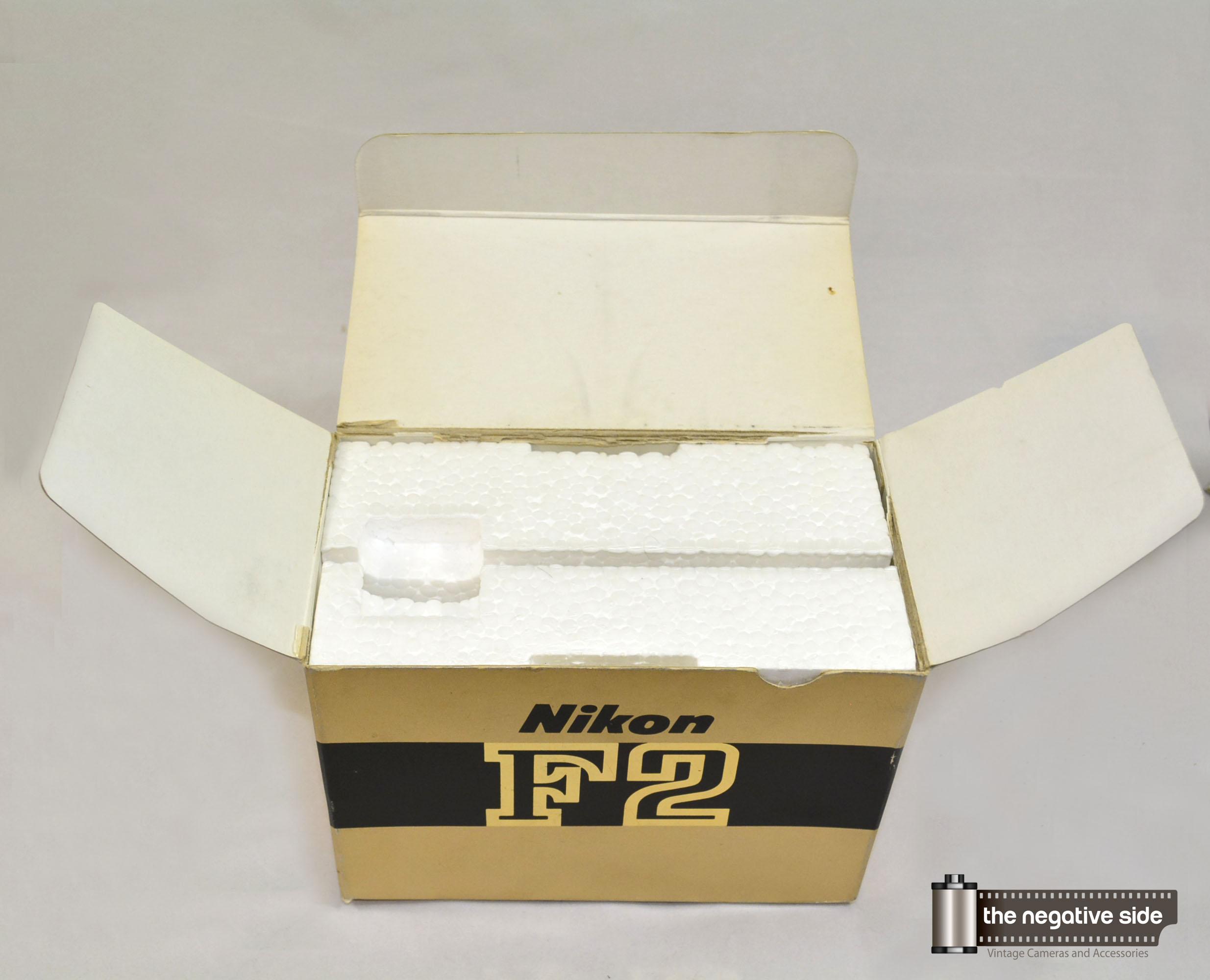 Nikon F2 Titan Box Only for Black F2 Titanium Camera SOLD